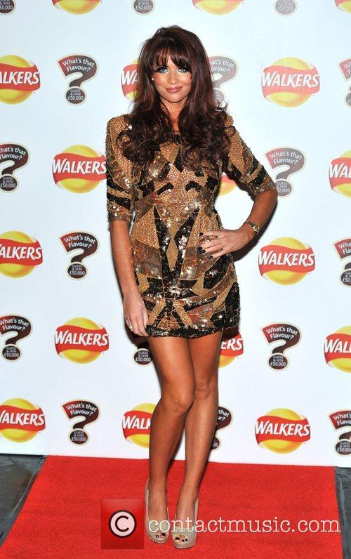Amy Childs Walkers 'What's That Flavour' - launch...