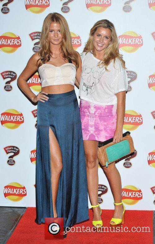 Caggie Dunlop, Millie Mackintosh Walkers 'What's That Flavour'...