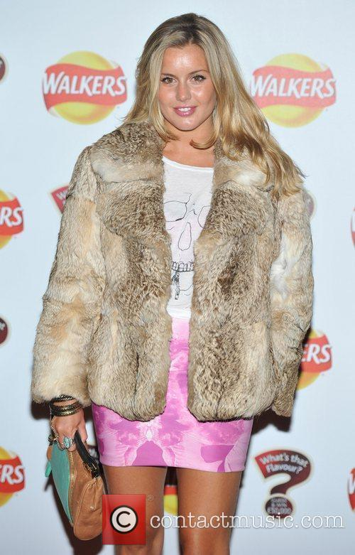 Caggie Dunlop Walkers 'What's That Flavour' - launch...