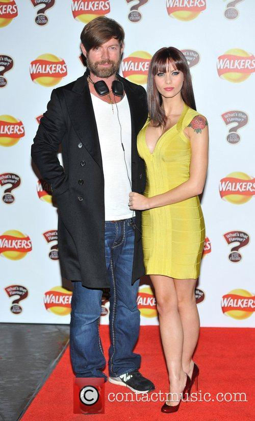 Jessica-Jane Clement and fiance Walkers 'What's That Flavour'...