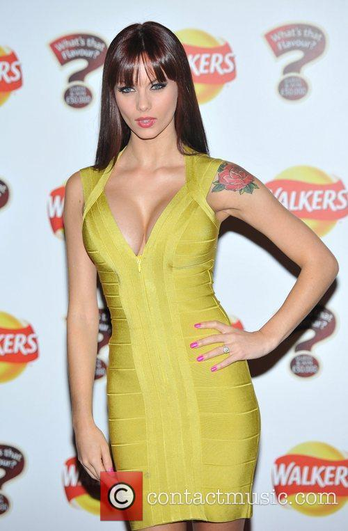 Jessica-Jane Clement Walkers 'What's That Flavour' - launch...