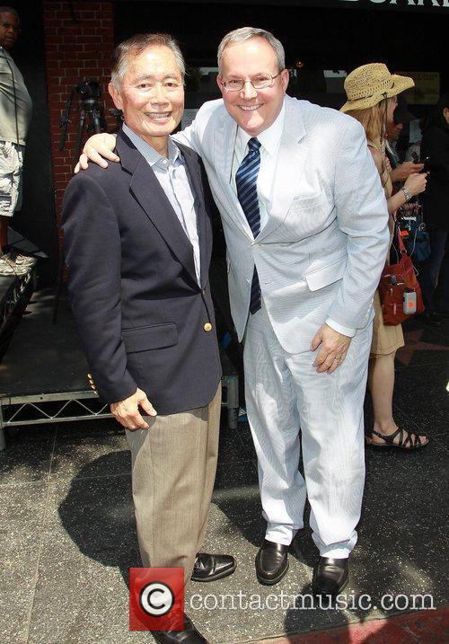 George Takei and Star On The Hollywood Walk Of Fame 2