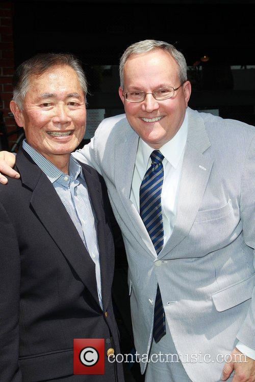 George Takei and Star On The Hollywood Walk Of Fame 3