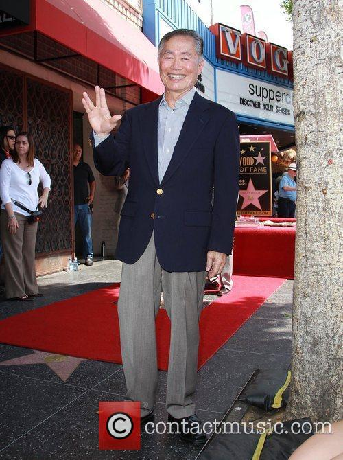 George Takei and Star On The Hollywood Walk Of Fame 4