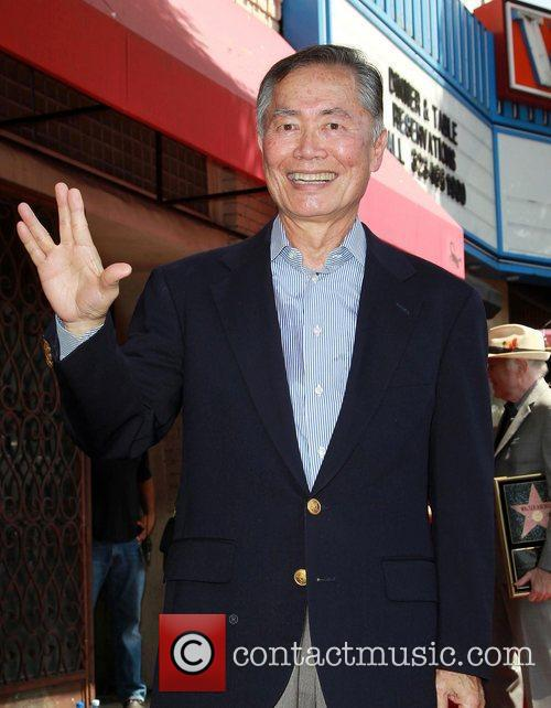 George Takei and Star On The Hollywood Walk Of Fame 6