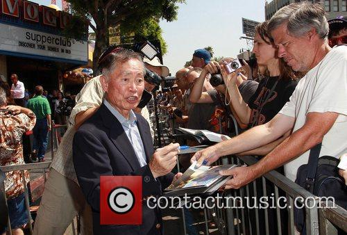 George Takei and Star On The Hollywood Walk Of Fame 8