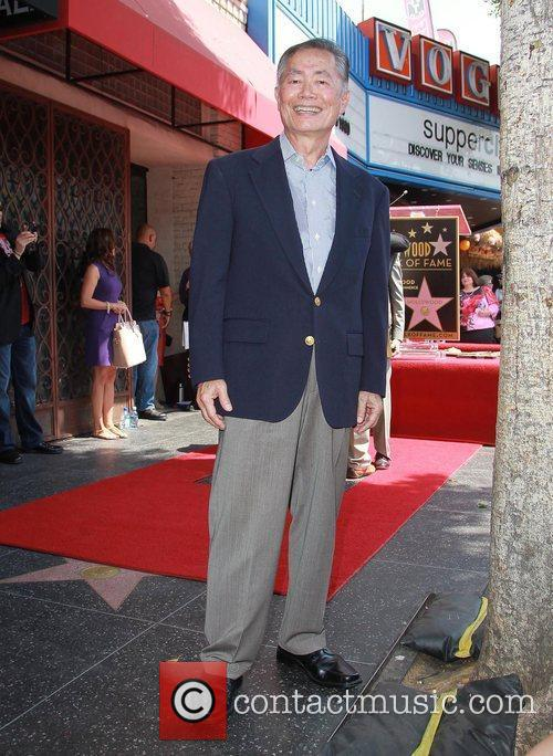 George Takei and Star On The Hollywood Walk Of Fame 9