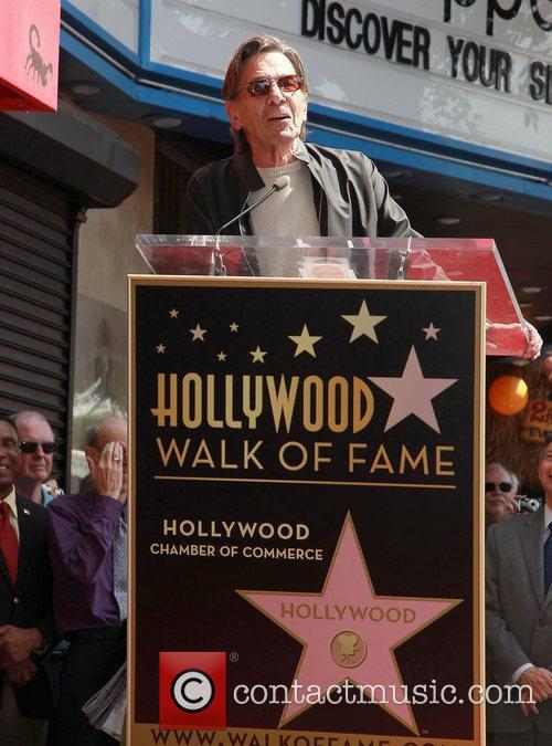 Leonard Nimoy and Star On The Hollywood Walk Of Fame 10