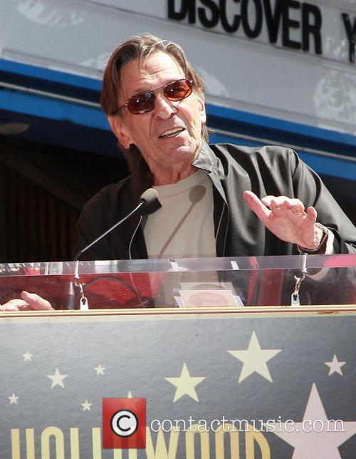 Leonard Nimoy and Star On The Hollywood Walk Of Fame 11