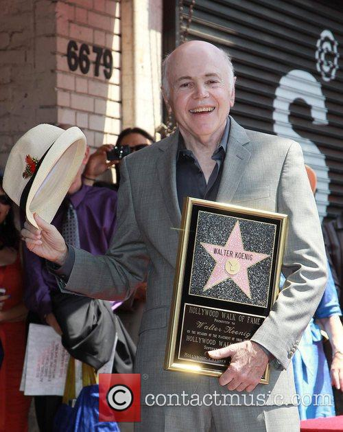 Walter Koenig and Star On The Hollywood Walk Of Fame 7