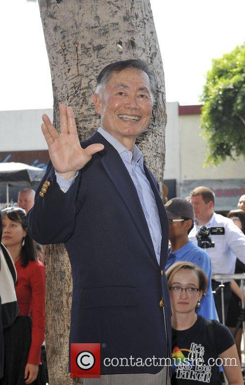 George Takei and Star On The Hollywood Walk Of Fame 1