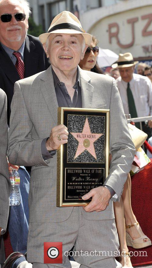 Walter Koenig and Star On The Hollywood Walk Of Fame 12