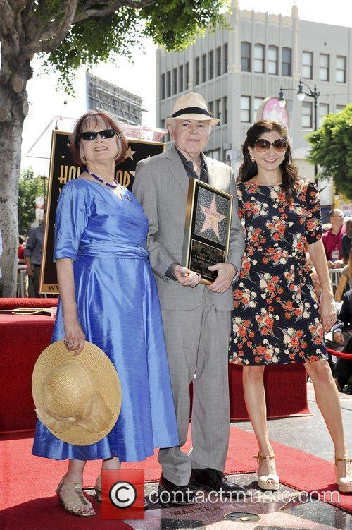 Walter Koenig and Star On The Hollywood Walk Of Fame 2