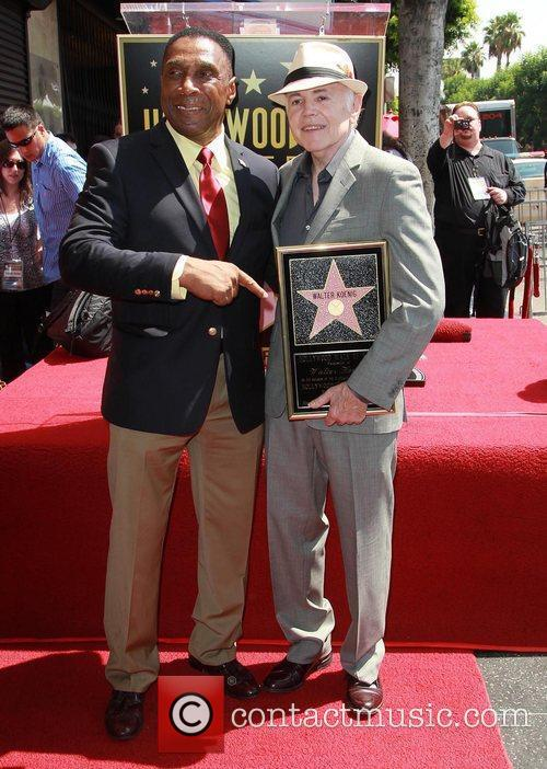 Herbert, Walter Koenig and Star On The Hollywood Walk Of Fame 2