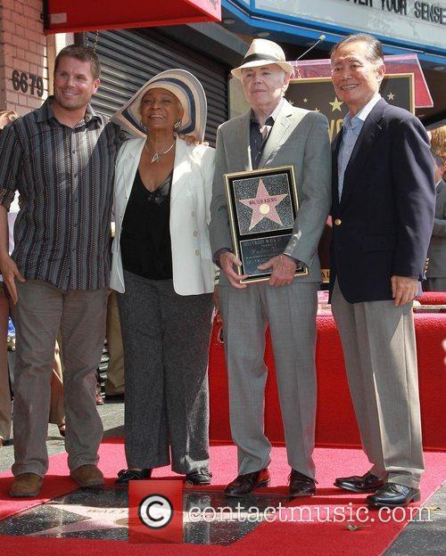 Nichelle Nichols, George Takei and Walter Koenig 3