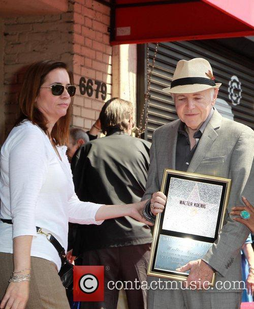 Walter Koenig and Star On The Hollywood Walk Of Fame 1
