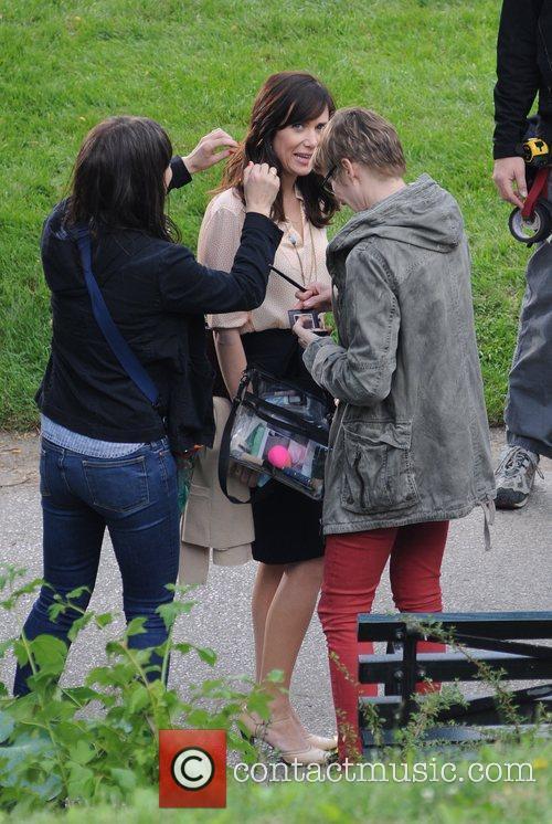 Kristen Wiig, Ben Stiller and Central Park 9