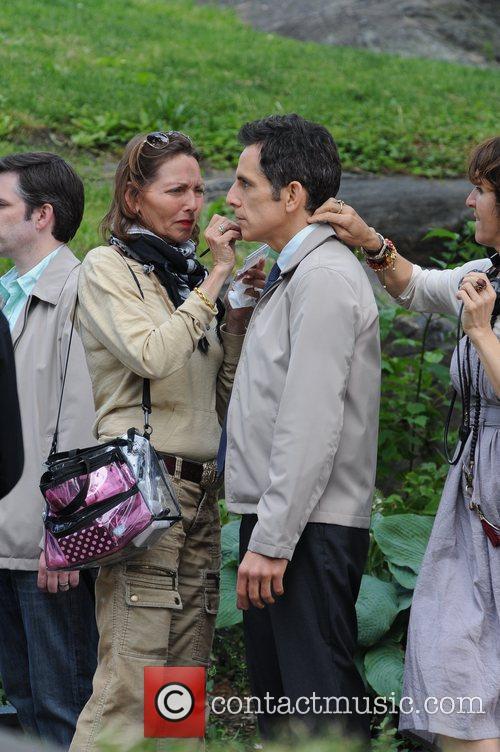 Kristen Wiig, Ben Stiller, Central Park