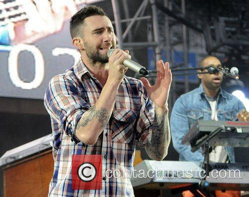Adam Levine and Maroon 5 9