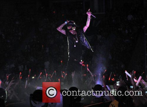 Wiz Khalifa 102.7 KIIS FM's Wango Tango at...