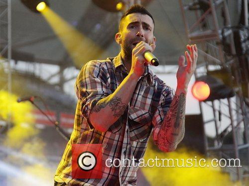 Adam Levine and Maroon 5 7