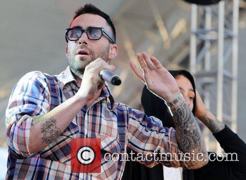 Adam Levine and Maroon 5 8
