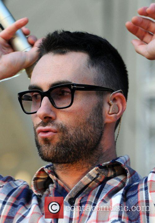 Adam Levine and Maroon 5 1
