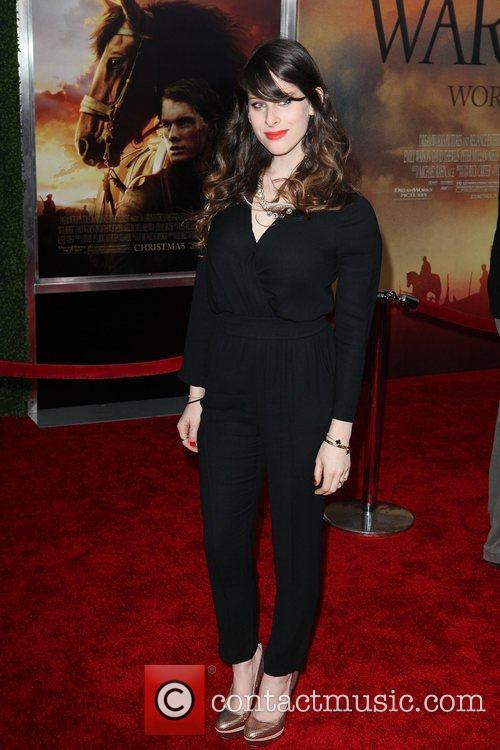 At the World Premiere of 'War Horse' at...