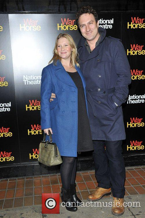 Joanna Page and guest Attends the 5th anniversary...