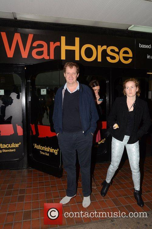Alastair Campbell  Attends the 5th anniversary performance...