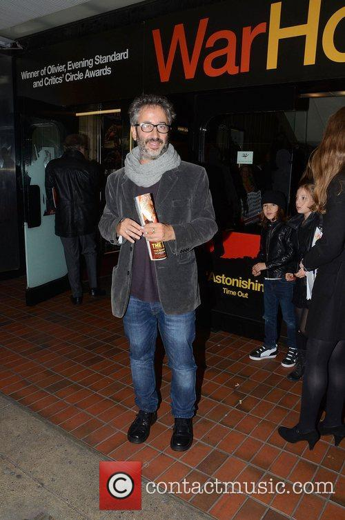 David Baddiel  Attends the 5th anniversary performance...