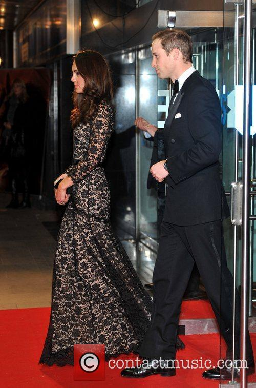 Prince William, Duchess, Kate Middleton and Odeon Leicester Square 7