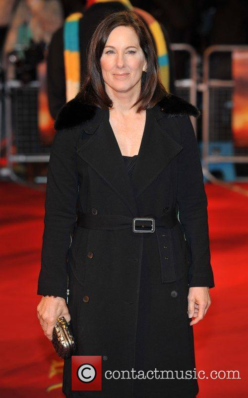 Kathleen Kennedy and Odeon Leicester Square 1