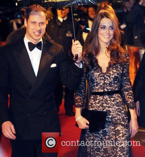 Prince William, Duchess, Kate Middleton and Odeon Leicester Square 3