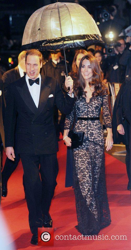 Prince William, Duchess, Kate Middleton and Odeon Leicester Square 2