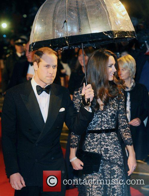 Prince William, Duchess, Kate Middleton and Odeon Leicester Square 4