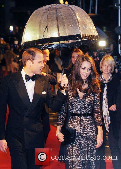 Prince William, Duchess, Kate Middleton and Odeon Leicester Square 1