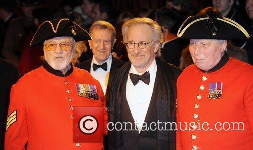 Steven Spielberg and Odeon Leicester Square 6
