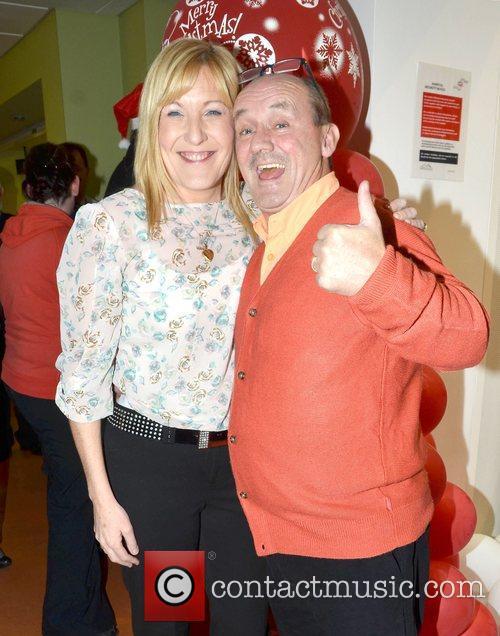 Brendan O'Carroll & wife Jenny Celebrities attend the...