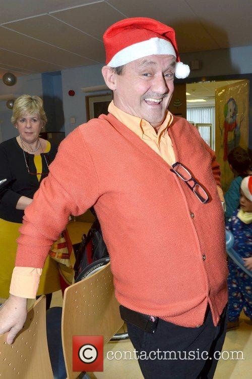 Brendan O'Carroll Celebrities attend the annual Our Lady's...