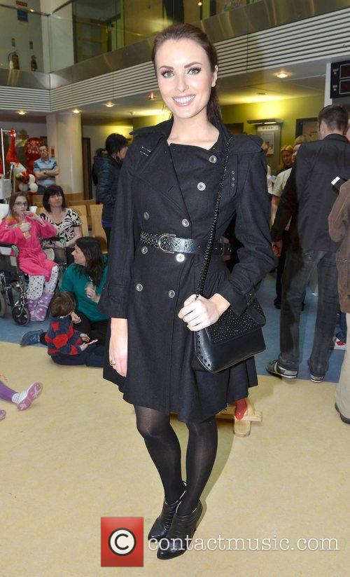 Holly Carpenter Celebrities attend the annual Our Lady's...