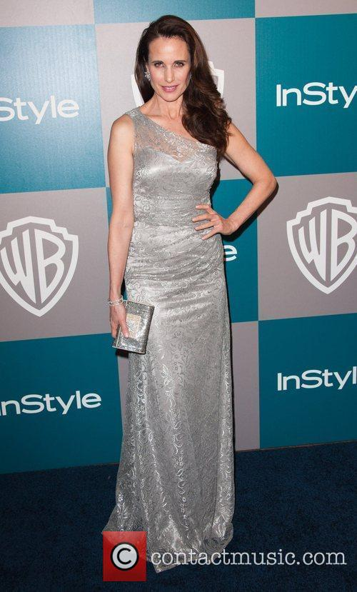 Andie Macdowell and Beverly Hilton Hotel 1