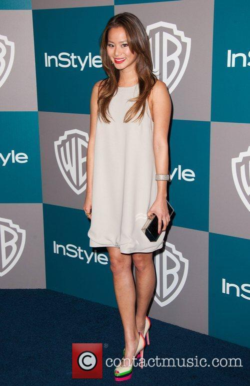 Jamie Chung and Beverly Hilton Hotel 3