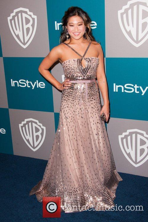 Jenna Ushkowitz and Beverly Hilton Hotel 2