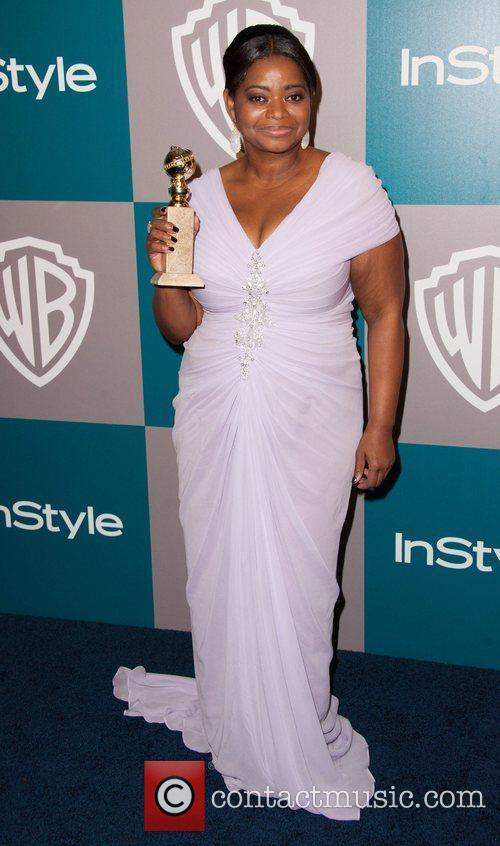 Octavia Spencer and Beverly Hilton Hotel 1