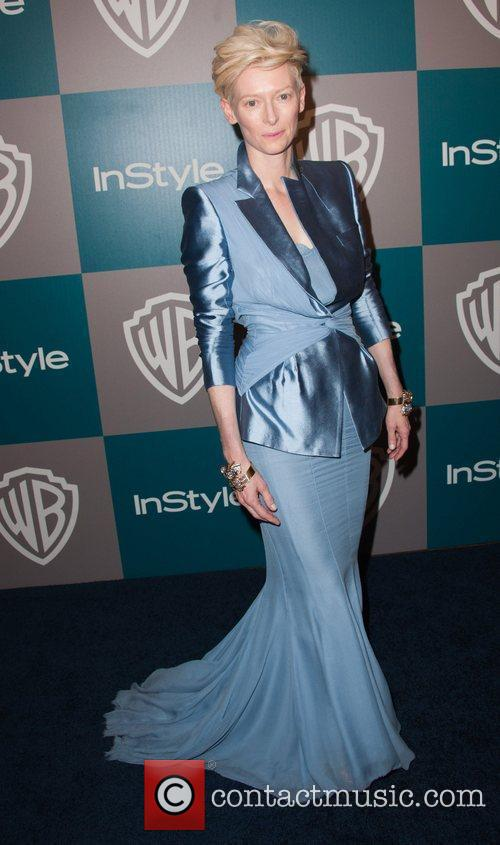 Tilda Swinton and Beverly Hilton Hotel 1