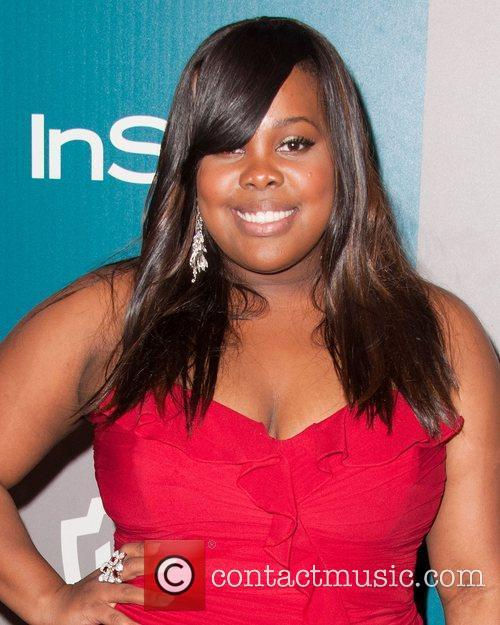 Amber Riley and Beverly Hilton Hotel 2
