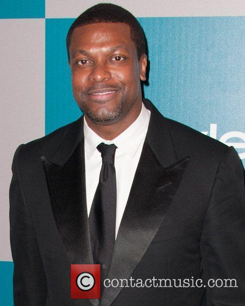 Chris Tucker and Beverly Hilton Hotel 2