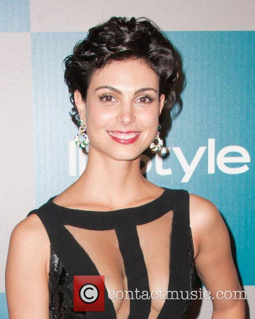 Morena Baccarin and Beverly Hilton Hotel 3