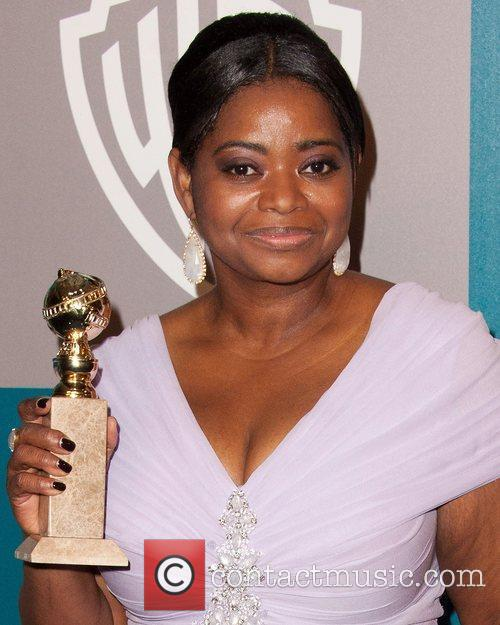 Octavia Spencer and Beverly Hilton Hotel 2